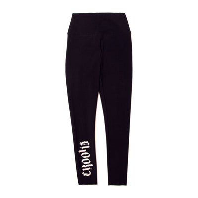 Crooks Castles party legging leggings black TheDrop