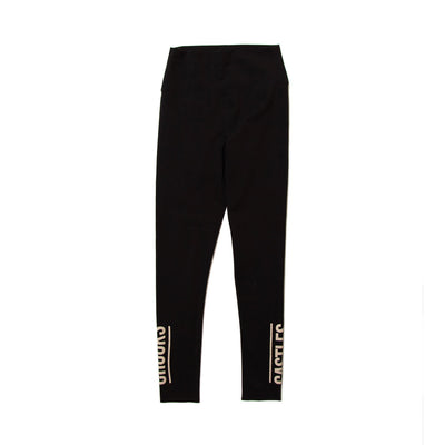 Crooks Castles vertical legging leggings black TheDrop