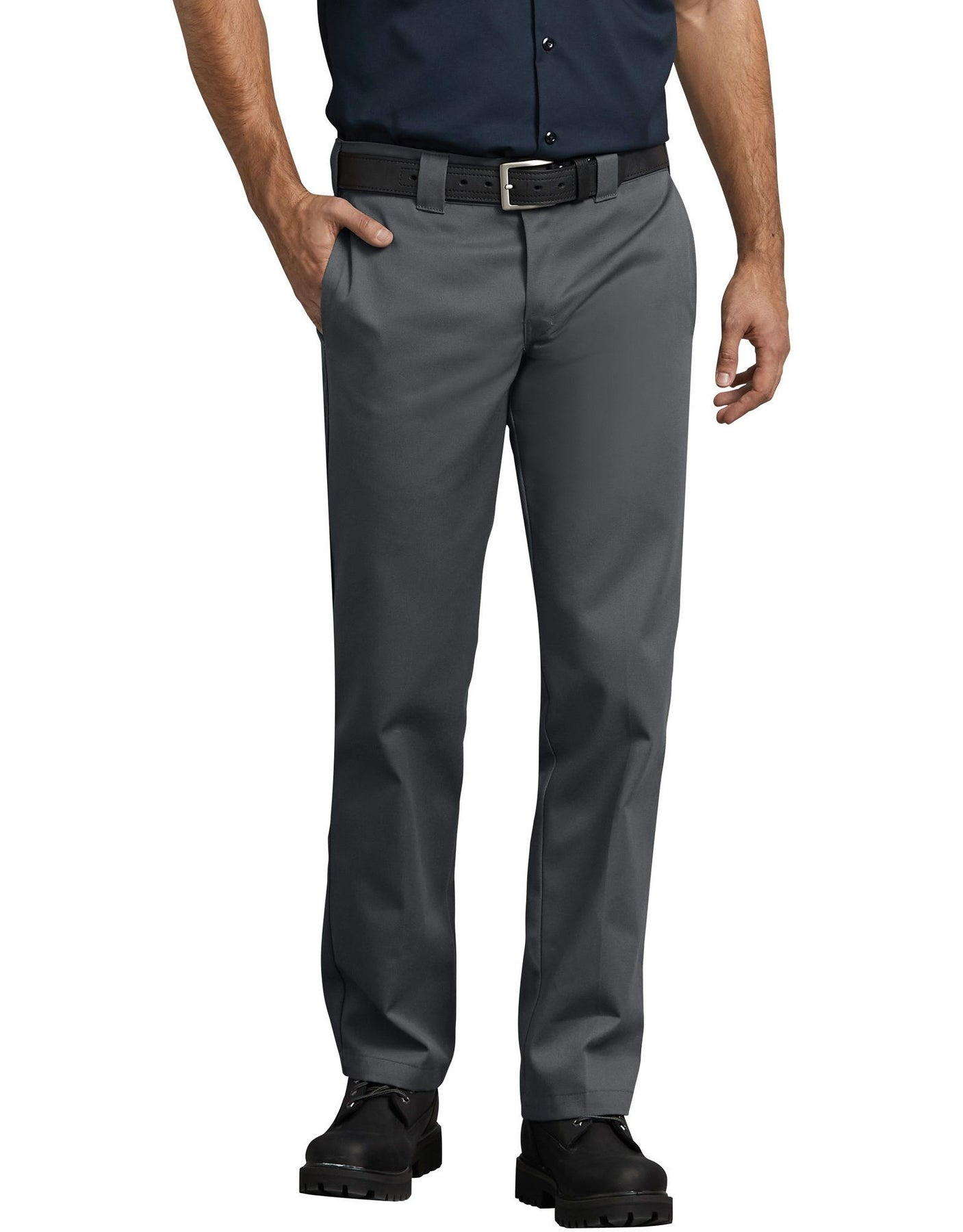 retail prices detailed look separation shoes DICKIES 873 SLIM STRAIGHT LEG WORK PANT CHARCOAL