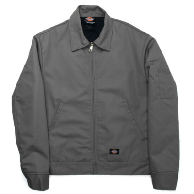 Dickies dickies insulated eisenhower jacket charcoal gray hot rod la TheDrop