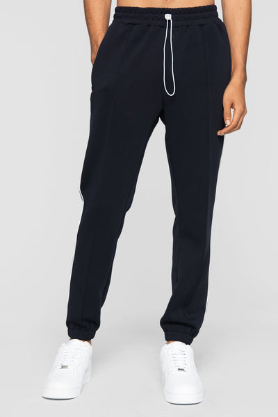 DOPE clubhouse track pants navy pants and joggers navy TheDrop
