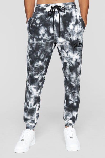 DOPE dye sweatpants black pants and joggers black TheDrop
