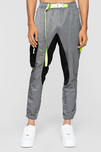 DOPE nomad joggers grey pants and joggers grey TheDrop