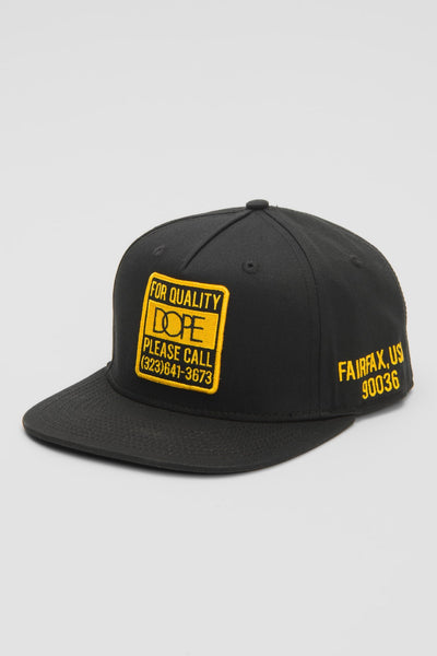 DOPE quality dope snapback hats and beanies black TheDrop
