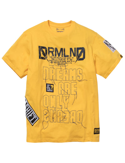 Dreamland countermove ss tee d1911t0215 yel tees yellow TheDrop