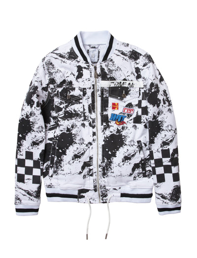 Dreamland fade to black denim jacket d2002o0306 wht jackets and outerwear white TheDrop