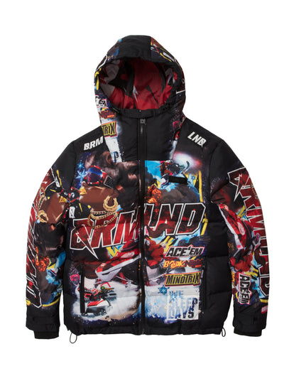 Dreamland snowfall outerwear d1911o0187 blk jackets and outerwear black TheDrop