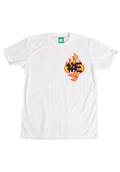EVERYBODYSKATES e flame graphic t shirt tees TheDrop