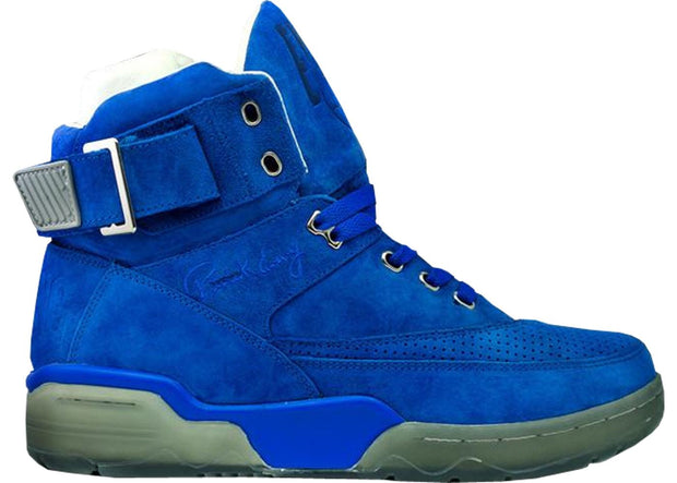 Ewing Athletics 33 hi blue grey mikey likes it ice cream sneakers TheDrop