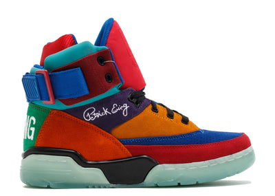 Ewing Athletics 33 hi multicolor clear remix sneakers TheDrop