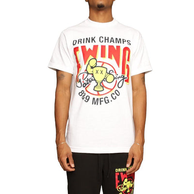Ewing Athletics ewing athletics x drink champs t shirt apparel TheDrop