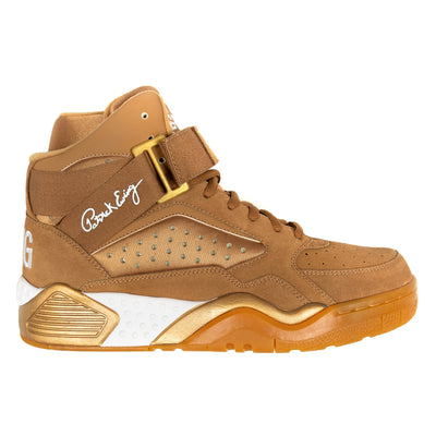 Ewing Athletics focus wheat gold sneakers TheDrop