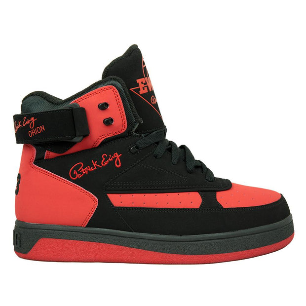 Ewing Athletics orion black red red sneakers TheDrop
