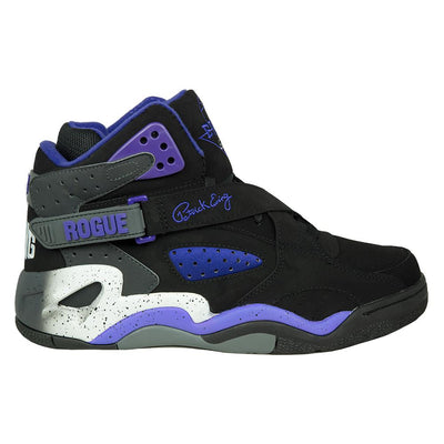 Ewing Athletics rogue black purple white sneakers TheDrop