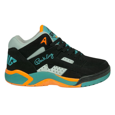 Ewing Athletics wrap black baltic orange sneakers TheDrop