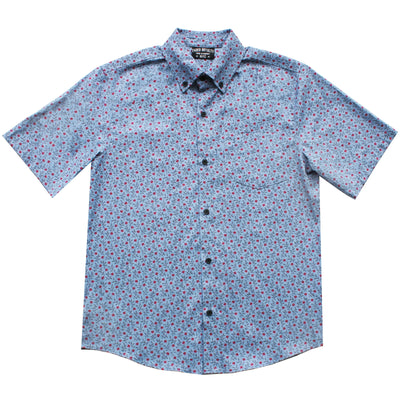 FADED ROYALTY short sleeve button up 16 button down shirts TheDrop