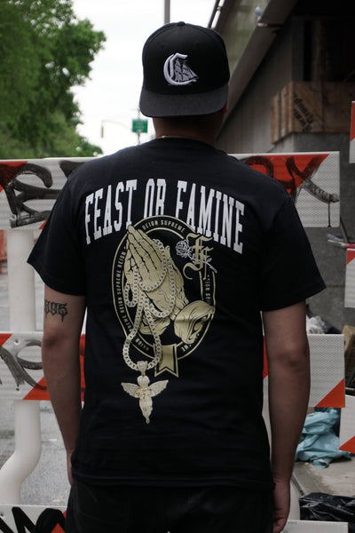 Feast or Famine mercy me tees black TheDrop