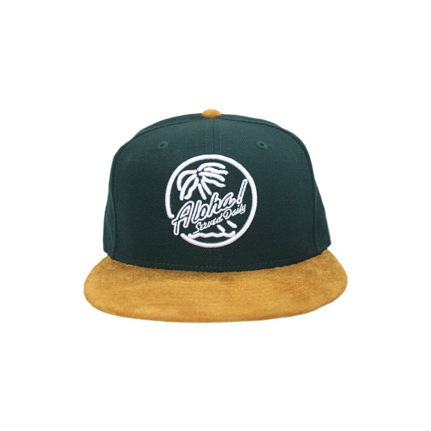 Fitted HI brigante snapback green khaki the lave gallery TheDrop