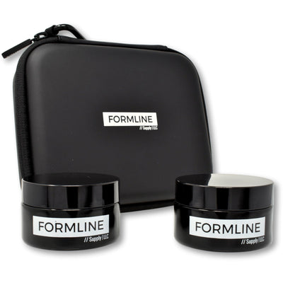 Formline Supply 50 ml smell proof glass jar and travel case storage containers TheDrop