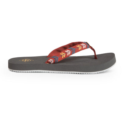 Freewaters womens supreem desert red slides TheDrop
