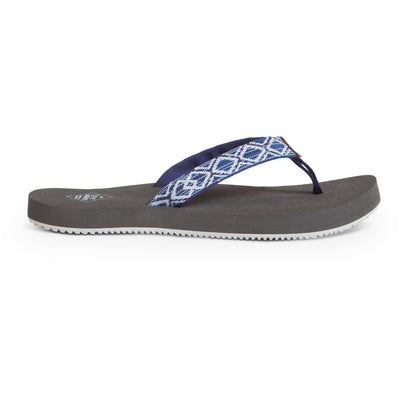 Freewaters womens supreem navy sw slides TheDrop