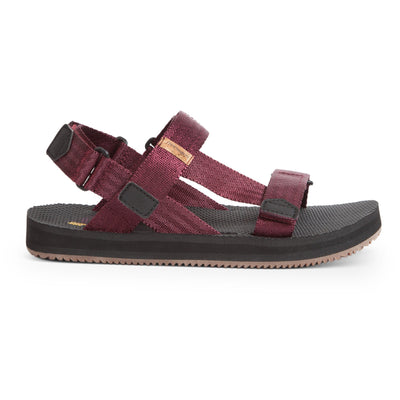 Freewaters womens supreem sport cabernet slides TheDrop
