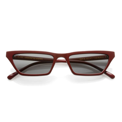GLVSS a17 thescene red goldmirror sunglasses TheDrop