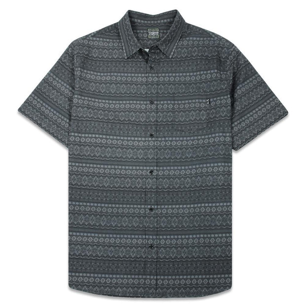 Grassroots 9th anniversary shadow button up shirt grassroots california grey TheDrop