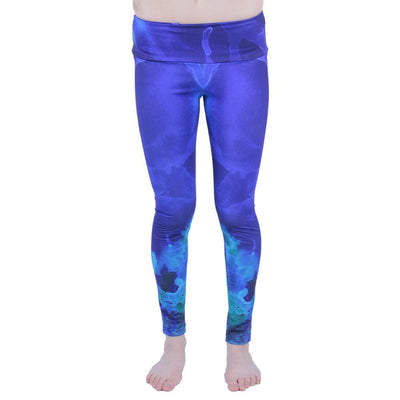 Grassroots high tide leggings grassroots california blue TheDrop