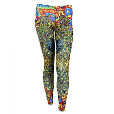 Grassroots phil lewis bear yoga pants grassroots california multi TheDrop