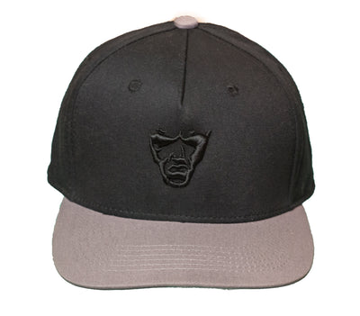 Grindstone Universal black and grey snapback cap snapbacks TheDrop