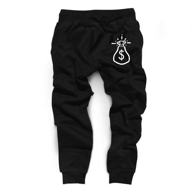 Hastamuerte get money joggers 1 streetwear official black TheDrop