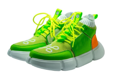 HIP AND BONE block shoe lemon lime orange sneakers TheDrop