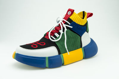 HIP AND BONE lego shoe multicolor sneakers TheDrop