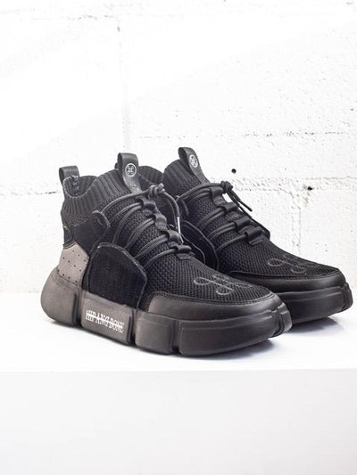 HIP AND BONE lego shoe triple black sneakers TheDrop
