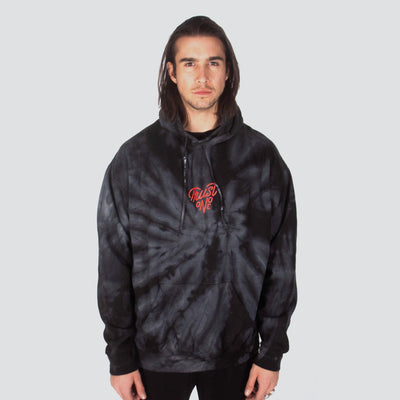 HIP AND BONE trust one tie dye hoodie black hoodies and crewnecks TheDrop