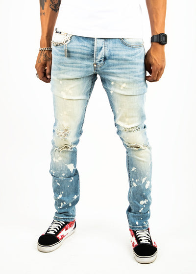 Mackeen brooke jeans denim jeans TheDrop