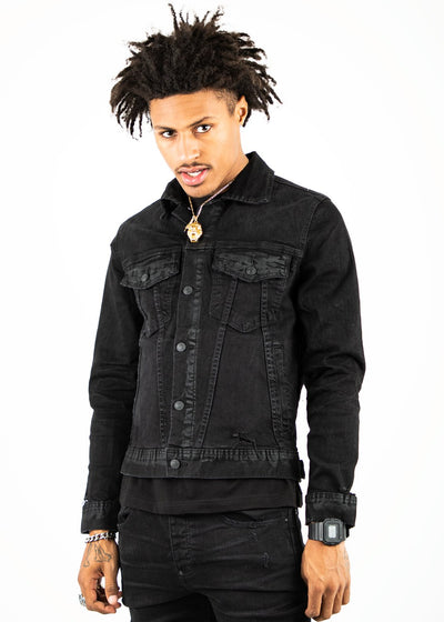 Mackeen ron jacket black jackets and outerwear TheDrop