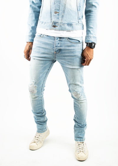 Mackeen ron jeans light 1 denim jeans TheDrop