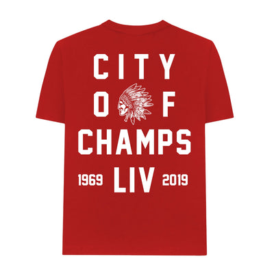 MADE MOBB city of champs t shirt red tees TheDrop