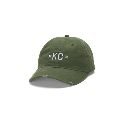 MADE MOBB copy of signature kc dad hat navy hats and beanies TheDrop