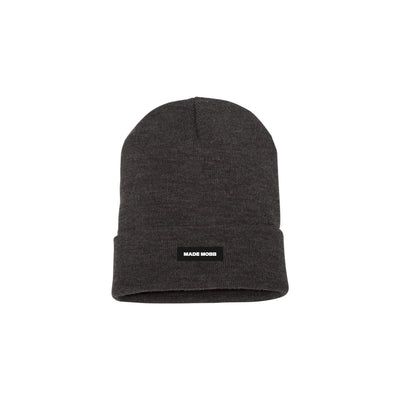 MADE MOBB made classic beanie charcoal hats and beanies TheDrop