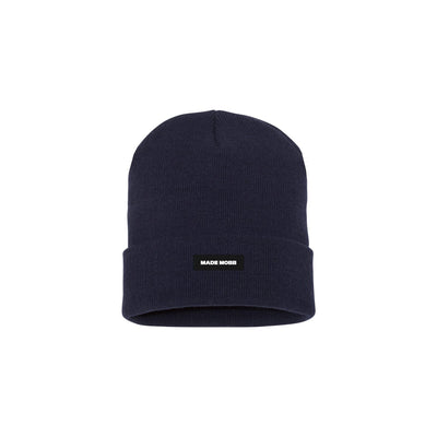 MADE MOBB made classic beanie navy hats and beanies TheDrop