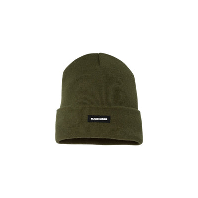 MADE MOBB made classic beanie olive hats and beanies TheDrop