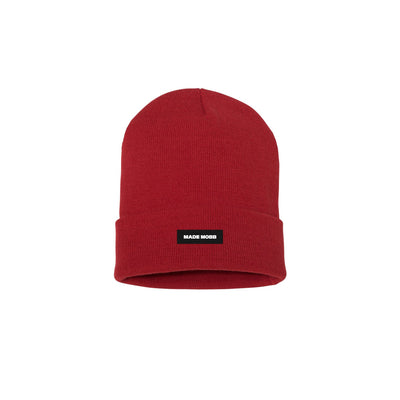 MADE MOBB made classic beanie red hats and beanies TheDrop