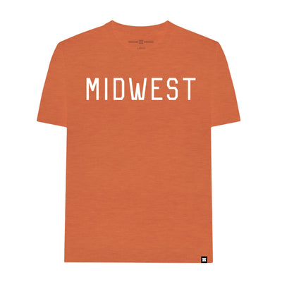MADE MOBB midwest heather orange tees TheDrop
