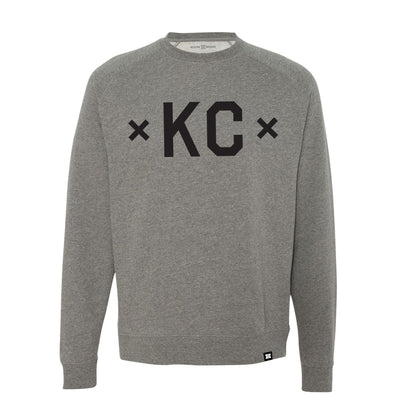 MADE MOBB signature kc crewneck gunmetal hoodies and crewnecks TheDrop