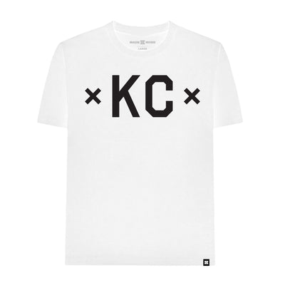 MADE MOBB signature kc white tees TheDrop