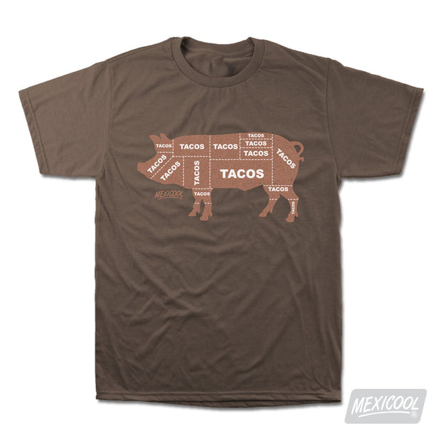 Mexicool™ taco cochi tee 1 tees brown TheDrop