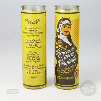 Mexicool™ virginity prayer candle mexico collective multi TheDrop